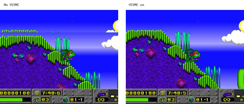 DOSBox Pixel Perfect mod - blade sk
